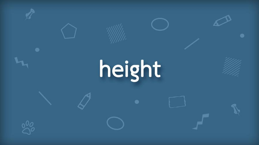 CSS height