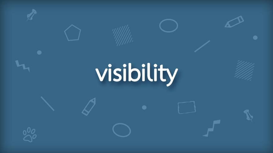 CSS visibility