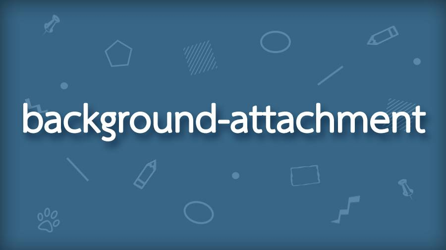 CSS background-attachment