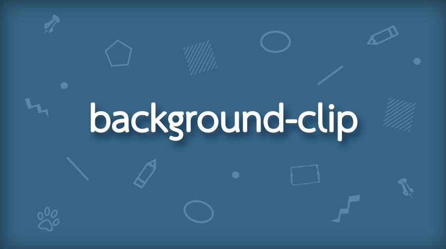 CSS background-clip