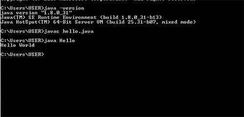 run java codes in cmd